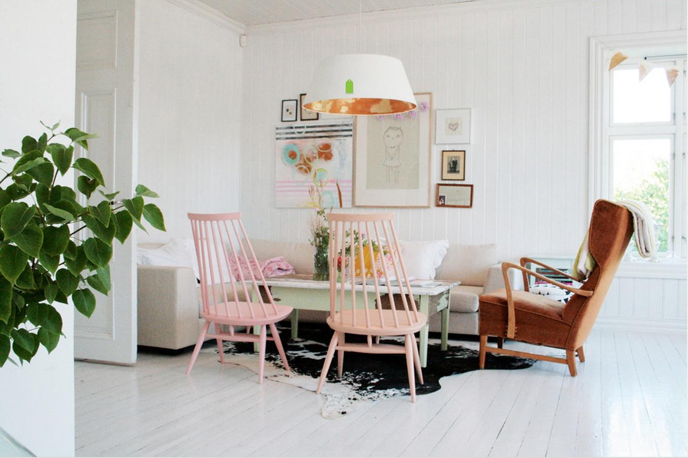 sillas rosa cuarzo